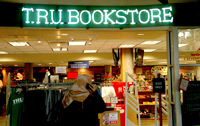 Entrance to the TRU Bookstore.