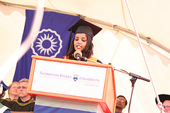 Amrita Patel, Valedictorian for the School of Business and Economics - June 9, 2011