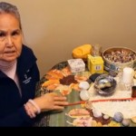 Elder Estella Patrick Moller discusses dementia using a medicine wheel in the documentary Remembering Our Way Forward.