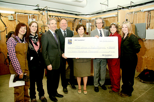 RBC Funds Women in Trades