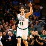 Kamloops-born Kelly Olynyk of the Boston Celtics