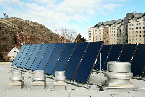 Solar Panels on CAC