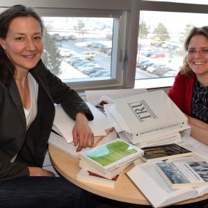 TRU Faculty of Law Professors Dr. Janna Promislow (left) and Nicole Schabus have organized Determining Access, Theory and Practice in Implementing Indigenous Governance over Lands and Resources, a two-day conference supported by a $25,000 SSHRC Connection Grant.