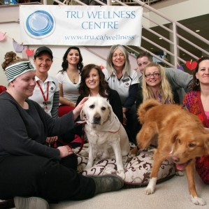 The Wellness Centres therapy dog program is one of the most popular, for obvious reasons.