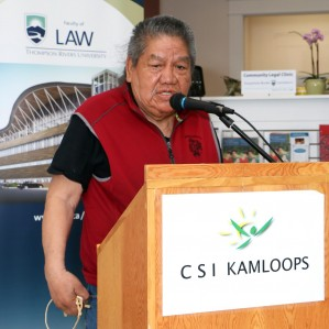 Community Legal Clinic opening Mike Arnouse