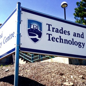 Trades & Technology sign