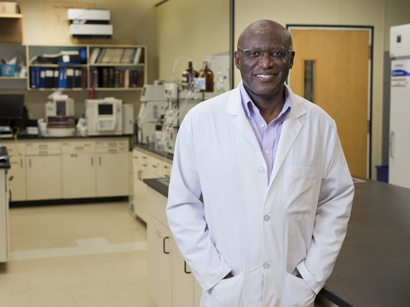 Dr. Kingsley Donkor, Professor in Chemistry, is one of six TRU researchers awarded an NSERC Discovery Grant.