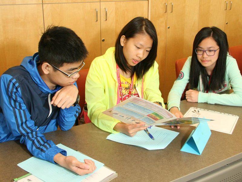 Student group study
