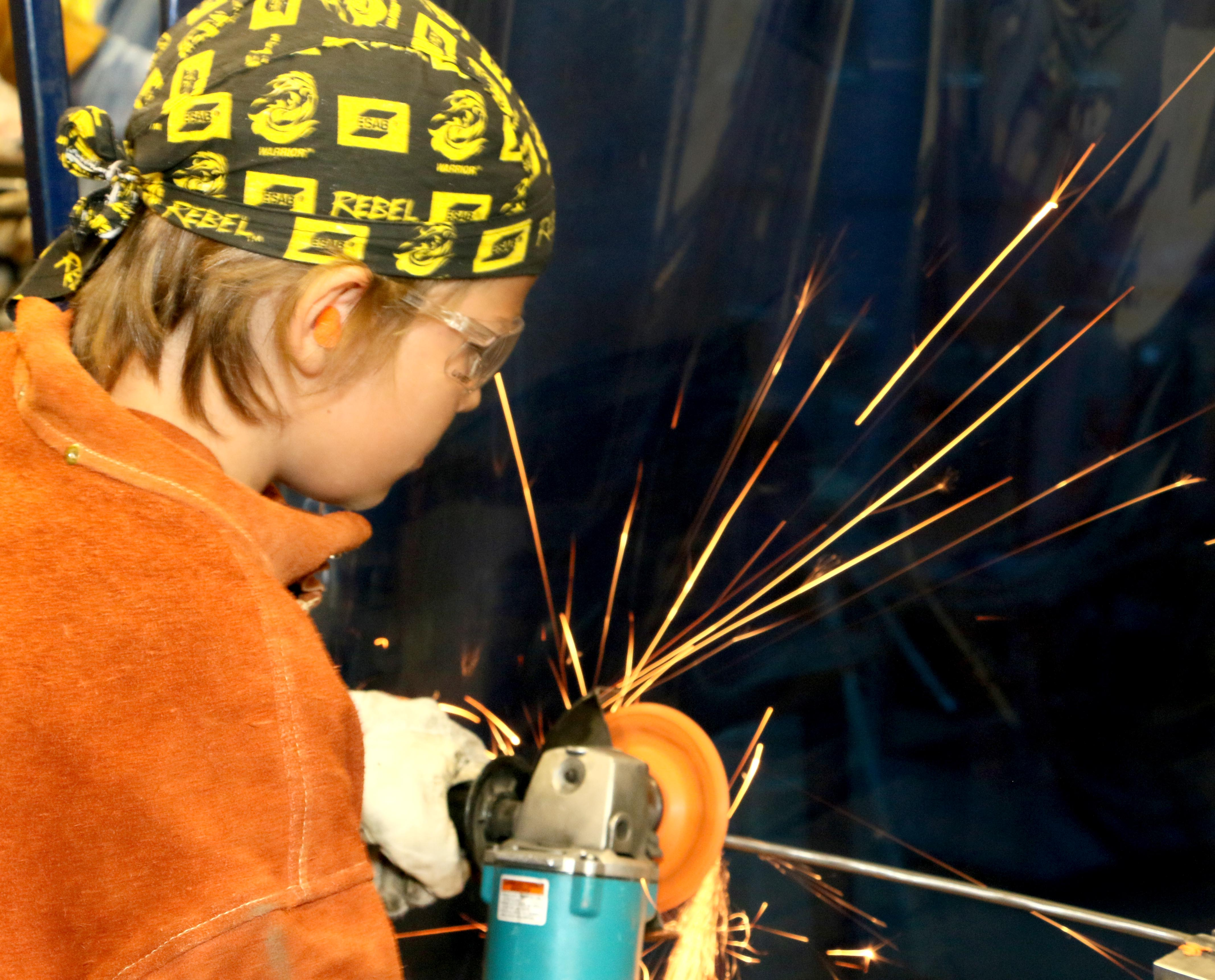 Welding camp safety protection