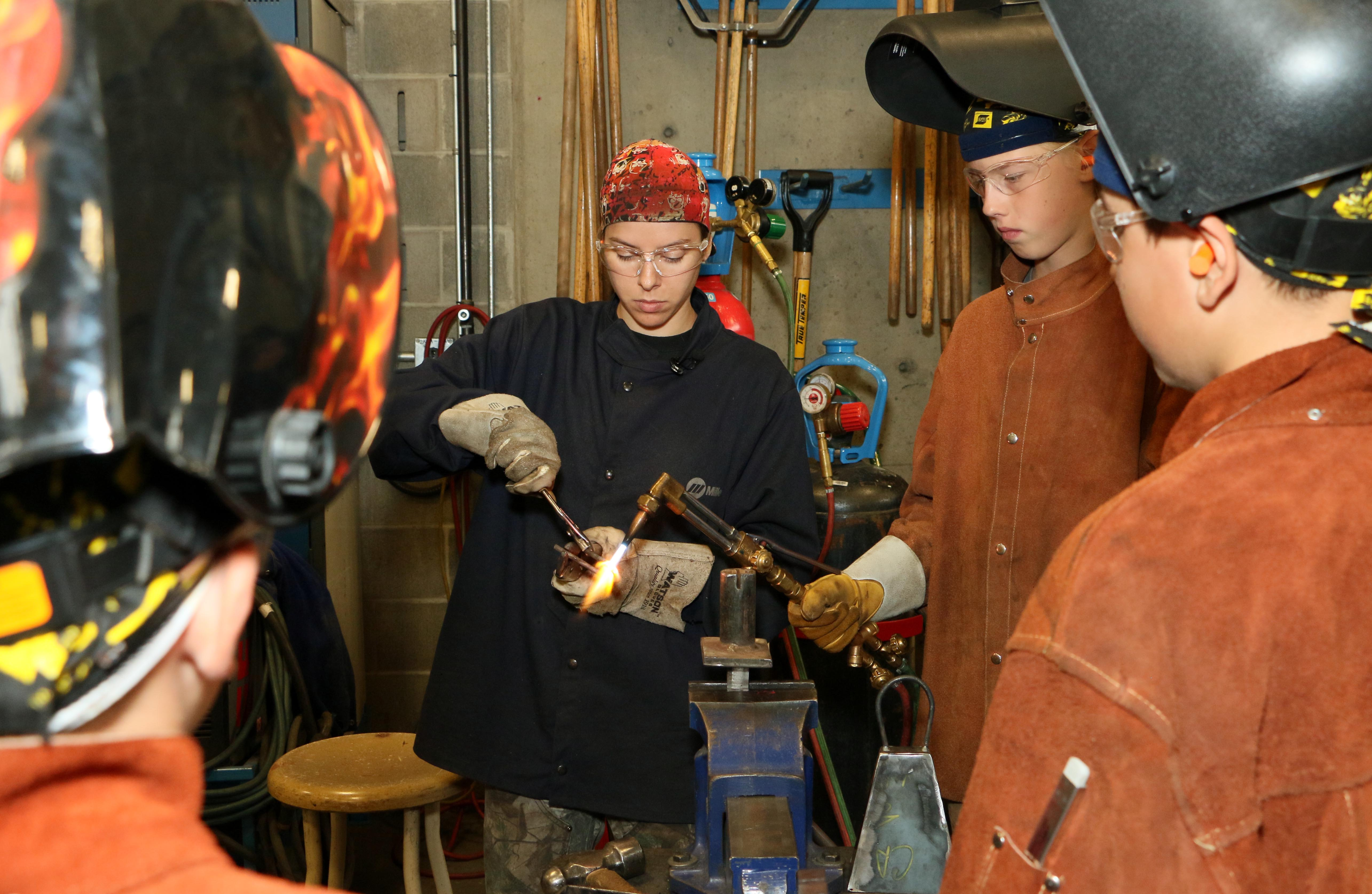 welding demonstration