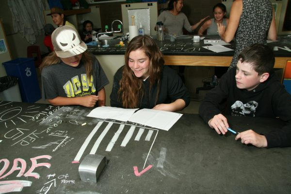 Aboriginal science camp
