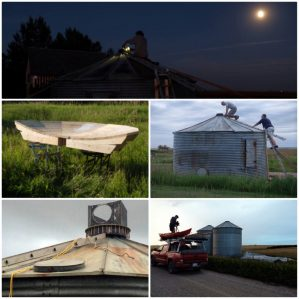 The Prairie Sun Project, hosted by the University of Lethbridge at its Coutts Centre for Western Canadian Heritage in Nanton, AB. over the weekend, featured many of the artists involved in TRU visual arts professor Donald Lawrence's 2015 Midnight Sun Camera Obscura Festival.