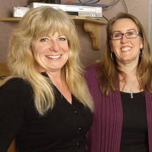 Cindy Piwowar and Connie Alger