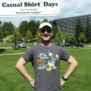Casual Shirt Days 2016 Participant