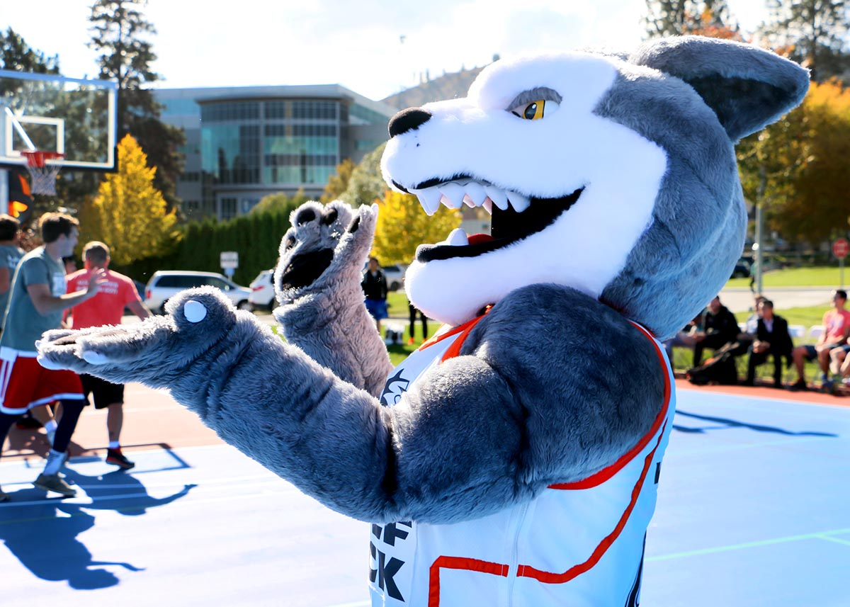 Wolfie the WolfPack mascot