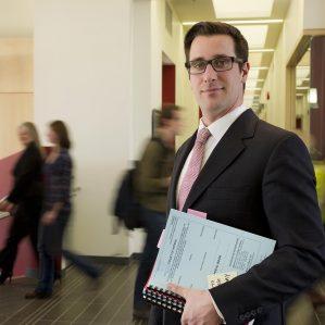 TRU Law Assistant Professor Micah Rankin.
