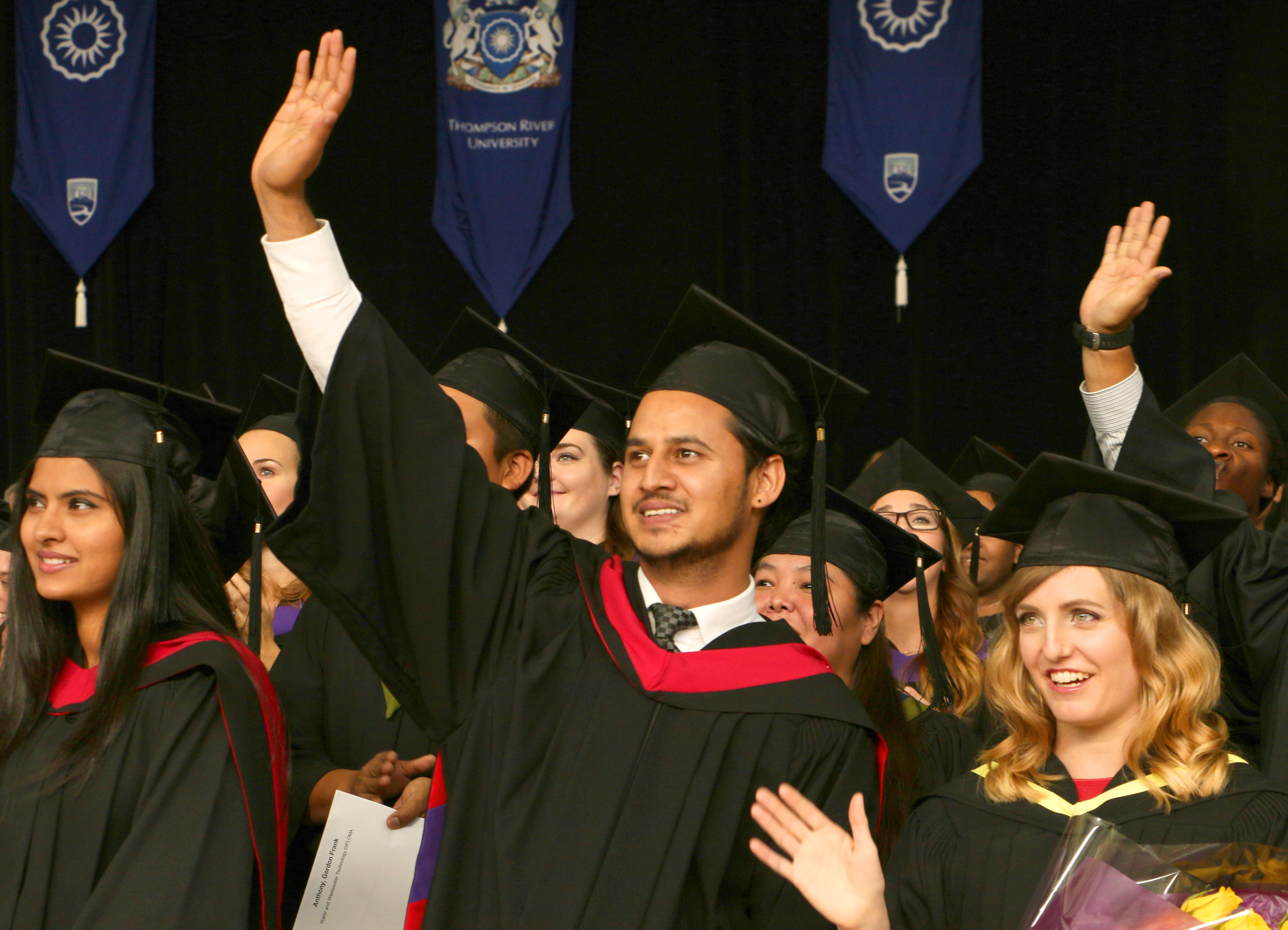 Fall Convocation 2015 held Oct. 16 at the Tournament Capital Centre.