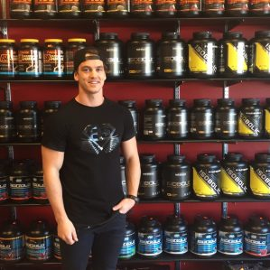 Business student Jake Young is soon to be part-owner of Fuel Kamloops.