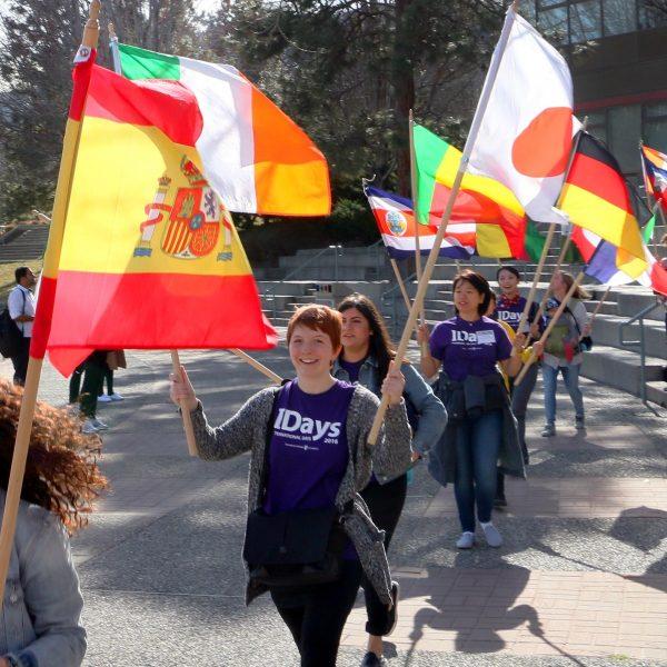 IDays flag parade
