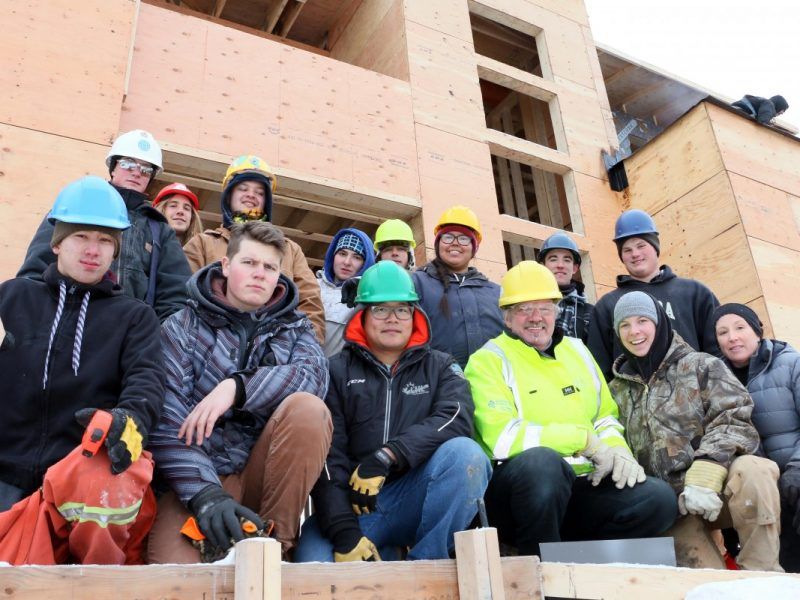 2017 Training House Project students