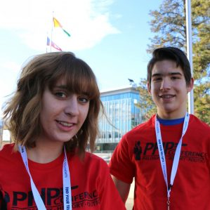 Molly Foxall and Matthew Ciardullo, PHP Conference volunteers and participants