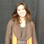 Cozyest Sweater Winner Paola Lopez