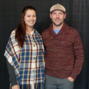 Coolest Sweater: Alison Hodgings & Jared MacArthur