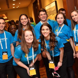TRU students at the Enactus Canada Regional Exposition in Calgary