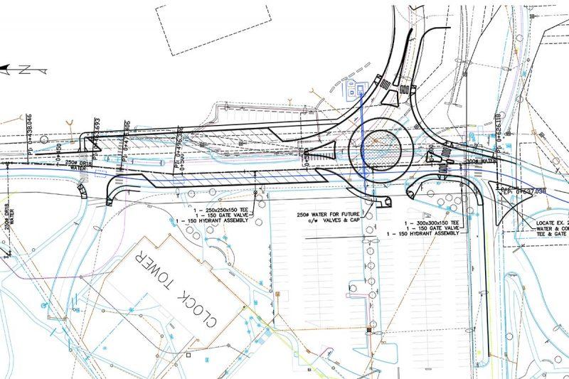 University Drive Roundabout