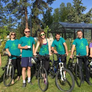 Velo-Ciraptors Bike to Work Week 2016 Team
