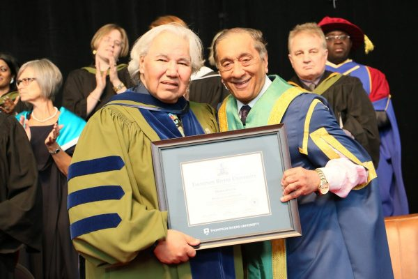 Murray Sinclair and Wally Oppal