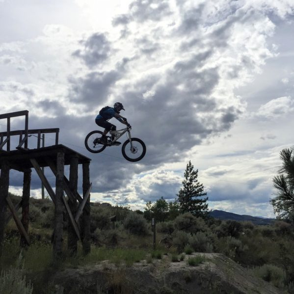 If you love fitness, Kamloops is the City for you. Photo courtesy Mike Coulter at the Kamloops Bike Ranch.
