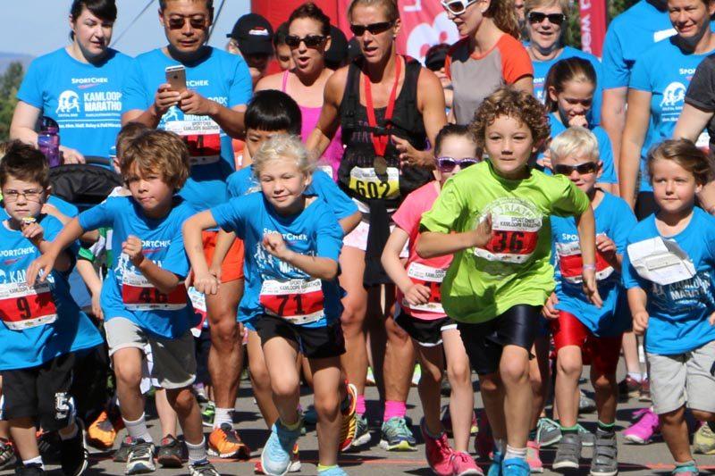 Kamloops Marathon 2016 3K