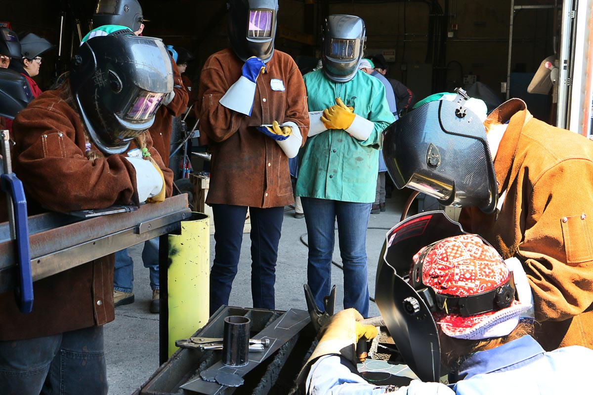 Mind Over Metal welding camp