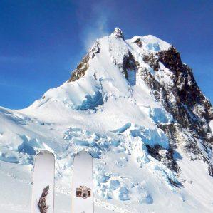 Mt. Logan mountain peak