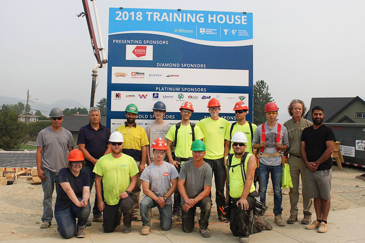 Trades training house 2018 kickoff