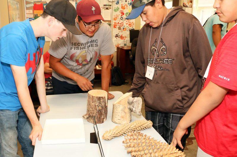 Aboriginal health and sciences camp