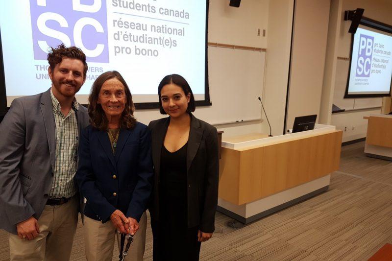 Pro Bono Students Club launch