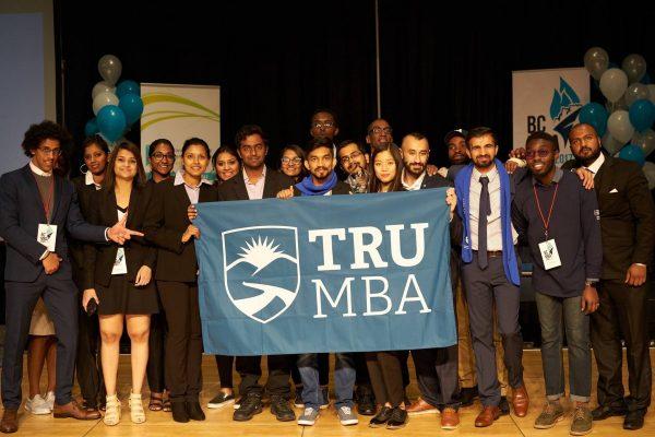 TRU's 2017 BC MBA Games team