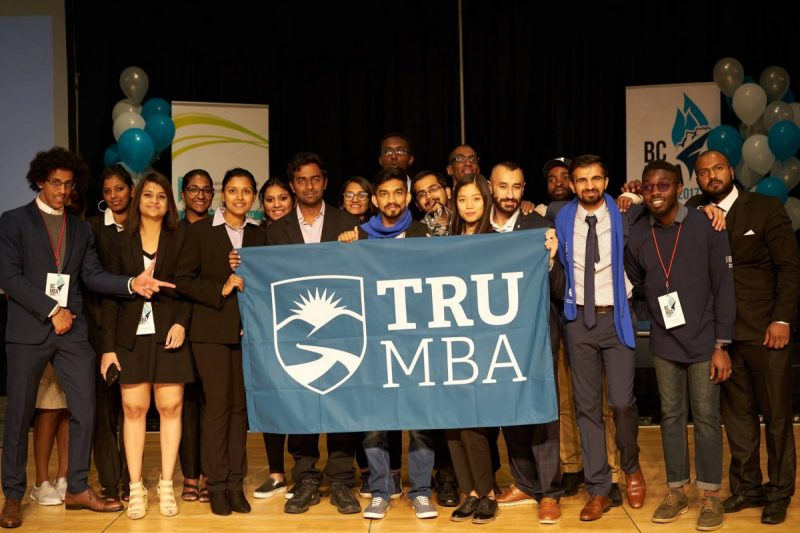 TRU's 2017 BC MBA Games team