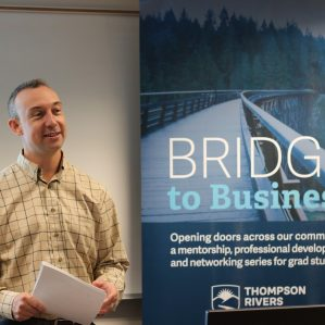 Colin O'Leary, Bridge to Business project manager