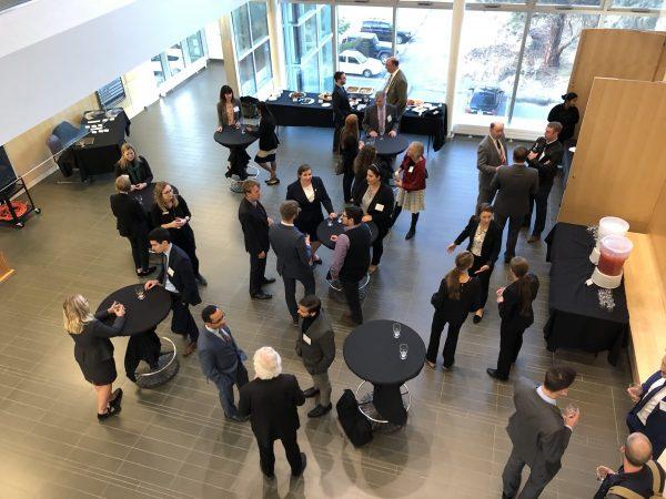 CBA law mentorship reception