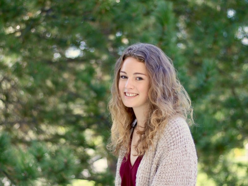 Rhegan Williamson is pursuing her interest in art by studying in the ARET program.