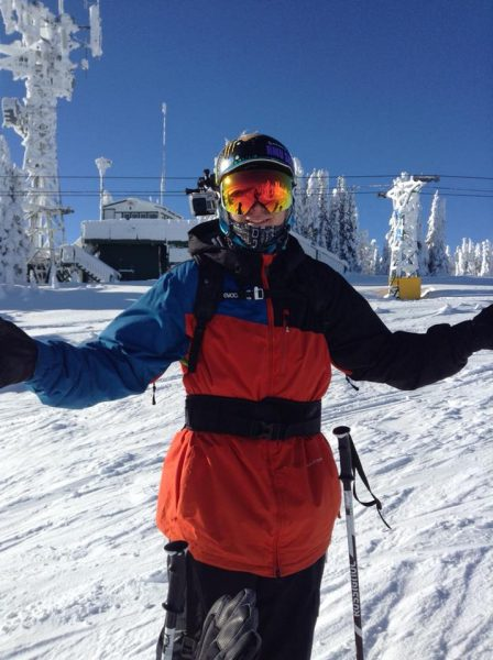 Vince is an avid skiier and the President of TRU's We Out Here Club.
