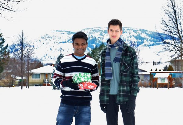 Allister and Allan are excited to embark on their new adventure to South India during winter break.