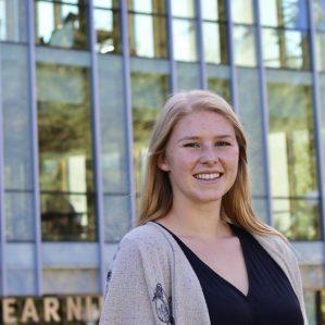 Mackenzie Byers is a recipient of the 2017 TRU Ambassador's Entrance Award.