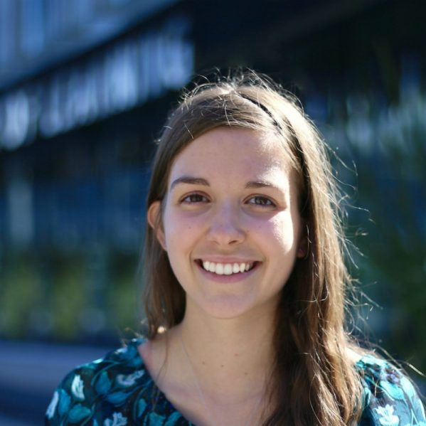 Emily Hogeveen is using her TRU Leadership Scholarship to study business.