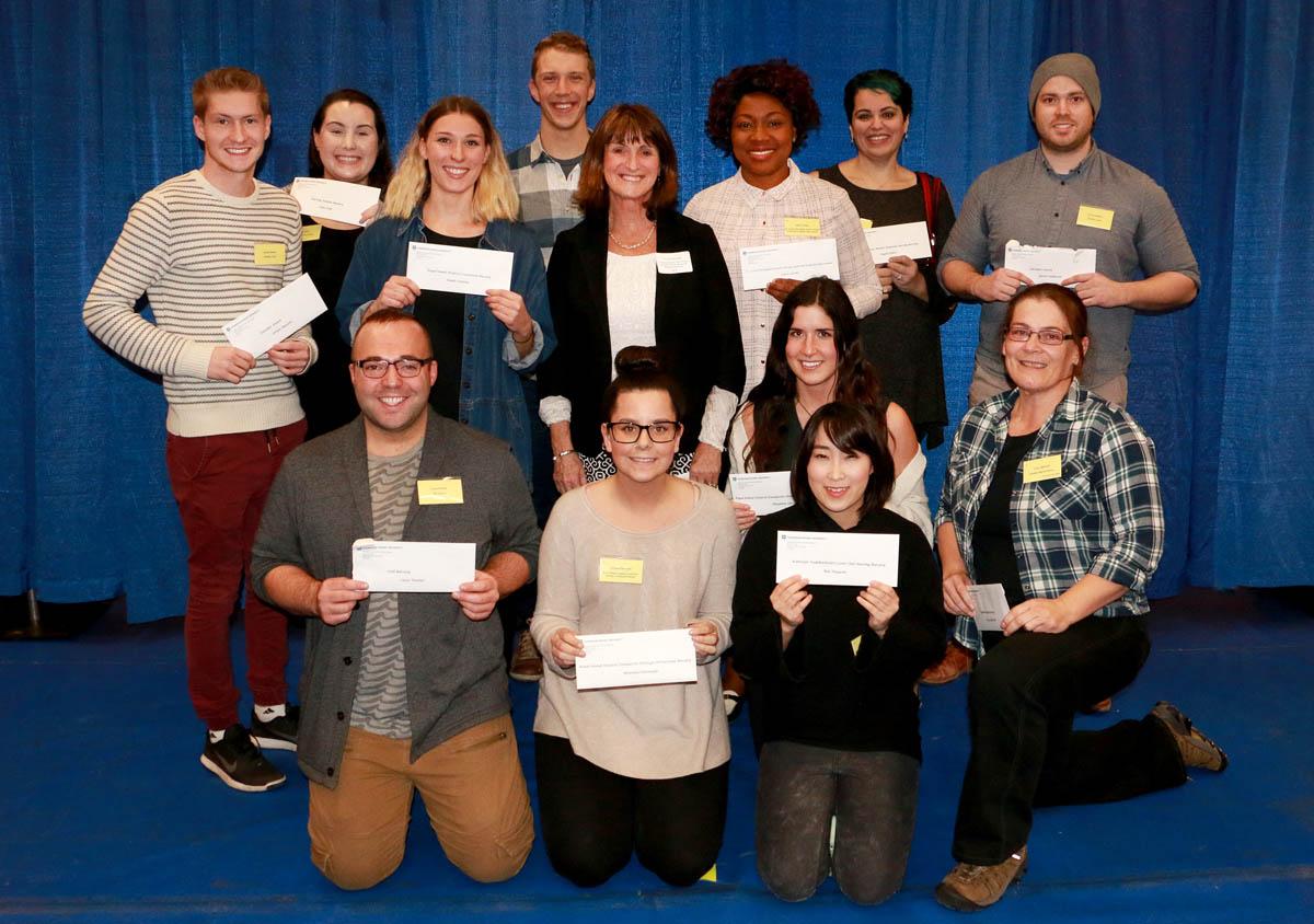 Foundation Awards nursing students