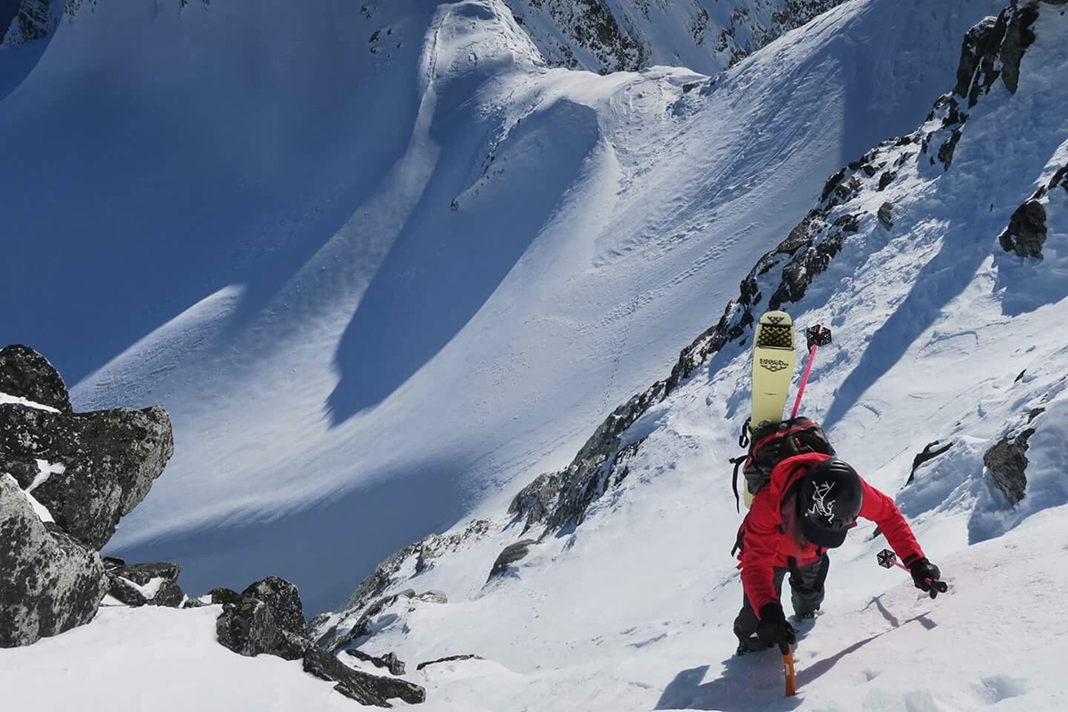 Christina Lustenberger Climbing
