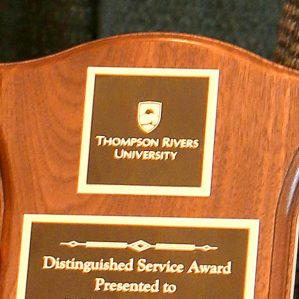 Merit Award closeup